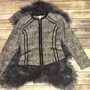H&M quilted blazer